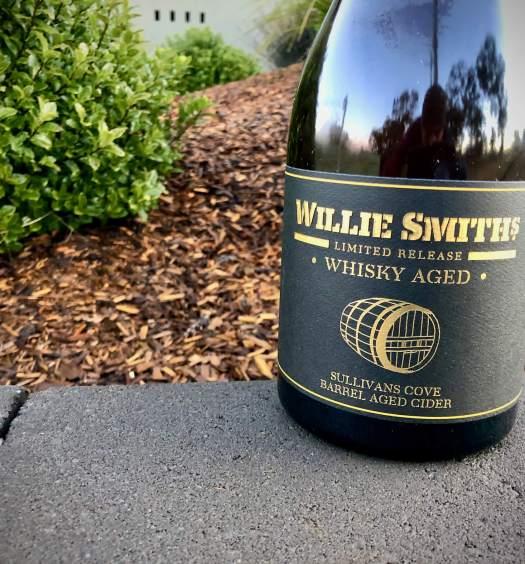 Willie Smiths Whisky Barrel Aged Cider