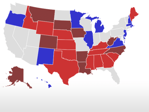 Election 2014   Live Results   Senate Senate Live Results Map