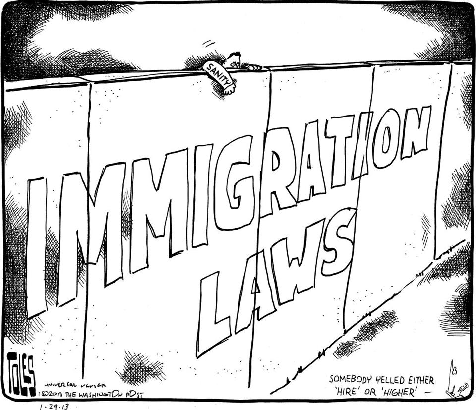On the Agenda at Last! Immigration Reform — No Excuses