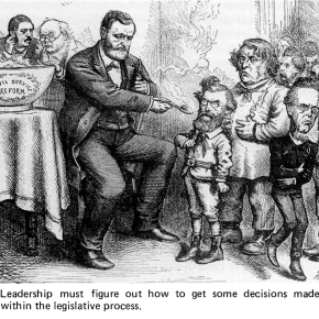 On Legislative Leadership - who do you blame?
