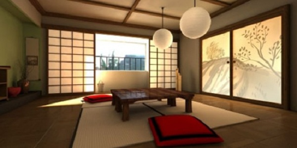 Soft Color Japanese Home Design  And Interiors