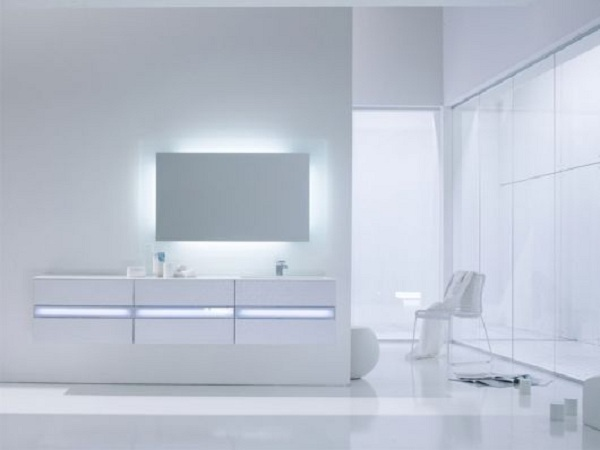 light bathroom