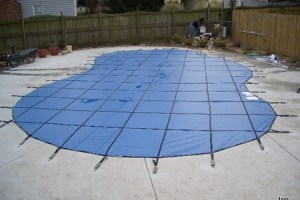 swimming pool cover safety