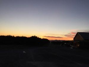 Sunrise over Chiles