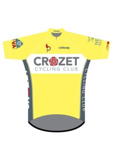 Crozet Cycling Club jersey