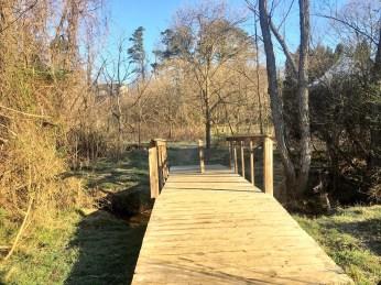 Bridge behind Western Ridge