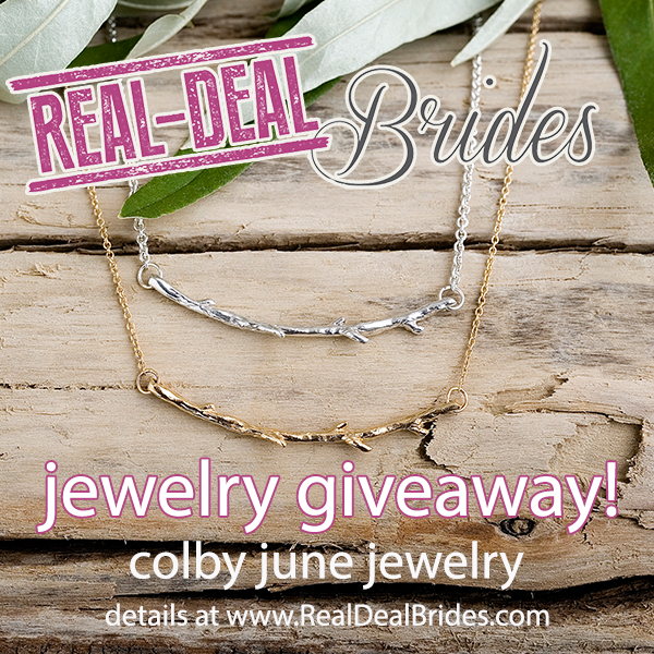 JEWELRY GIVEAWAY! Gorgeous Colby June necklace. Nature-inspired. It's easy to win - come enter!