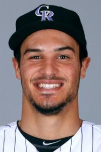 Nolan Arenado(SDP) is all smiles as he finished the 2015 Real Deal season with a league best 72.25pts in Week #21