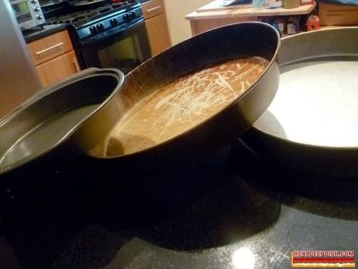 photo of deep dish pans