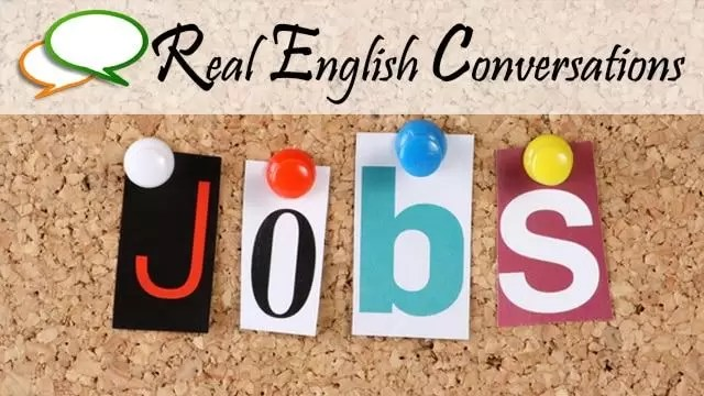english conversation about jobs