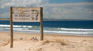 Restaurant La Huella at the beach in Jose ignacio, Uruguay