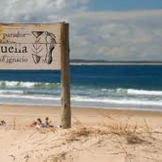 Restaurant La Huella at the beach in Jose ignacio, Uruguay