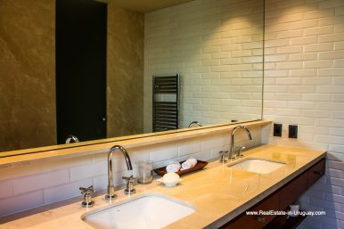 Master Bathroom of Harmonious and Unique Lifestyle by the Ocean in Las Carcavas