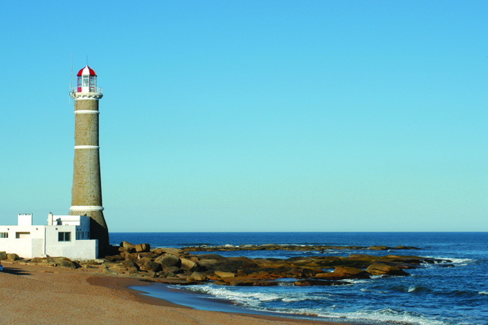 Light Tower in Jose Ignacio, Uruguay