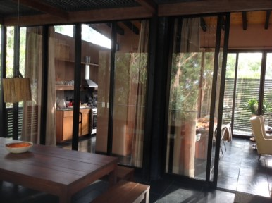 Terrace view inside