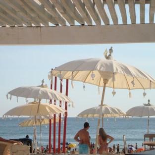 Beach club in Punta Ballena
