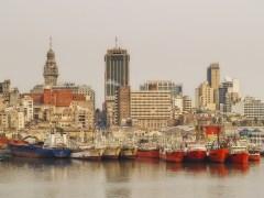 Port of Montevideo, Uruguay