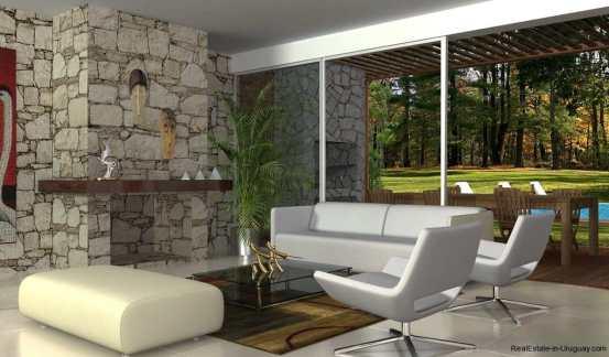 1396-Living-of-Modern-2-Story-House-Carrasco-Montevideo