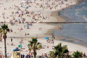 Beachlife in Piriapolis, Uruguay