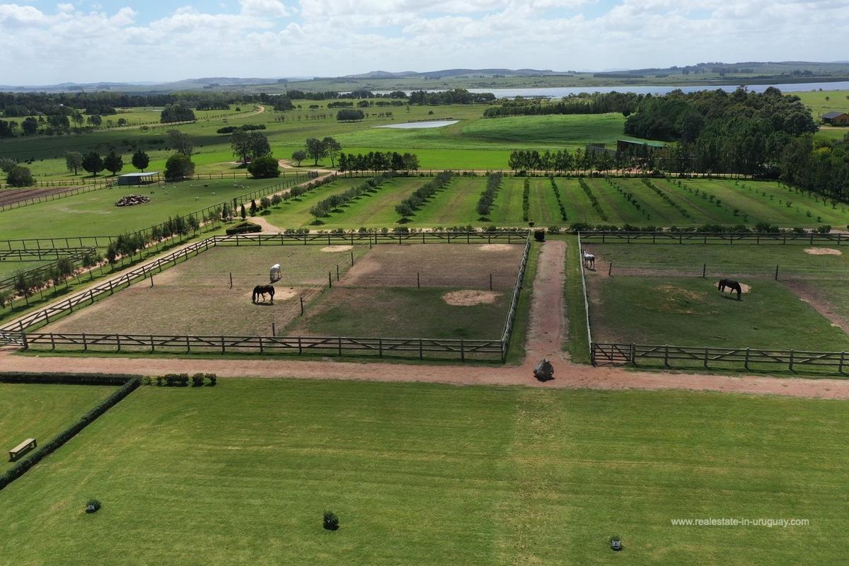 Aireal View of Land Las Casuarinas