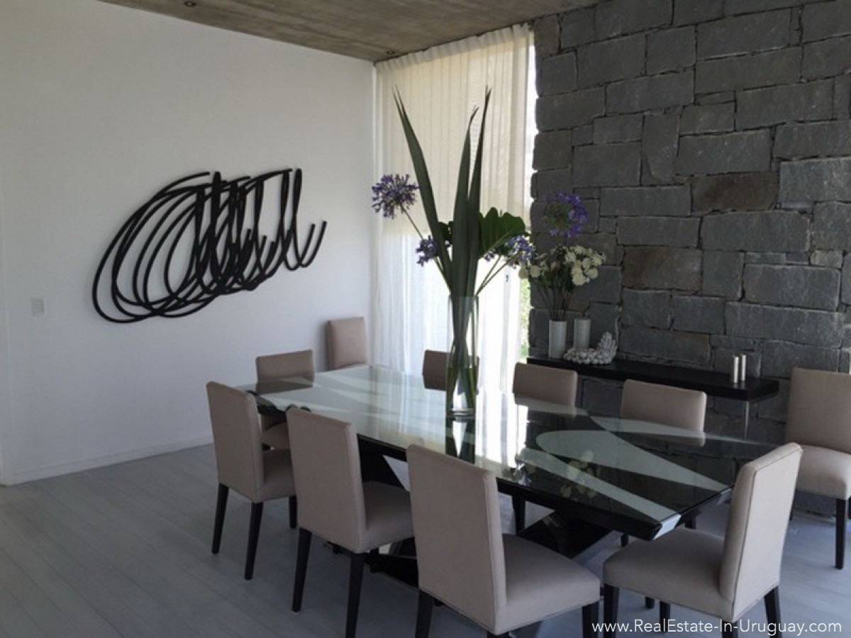 Modern Beach Property - Dining Room