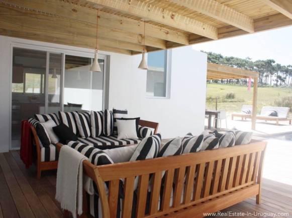 Beach House in Jose Ignacio Terrace