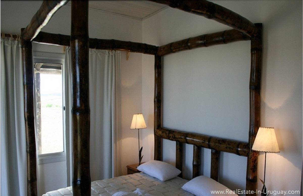 1000 Ha Chacra near Cabo Polonia - Master Bedroom