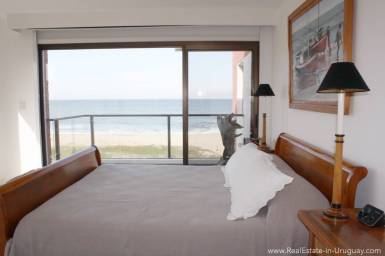 Ocean Front Apartment - Master Bedroom View