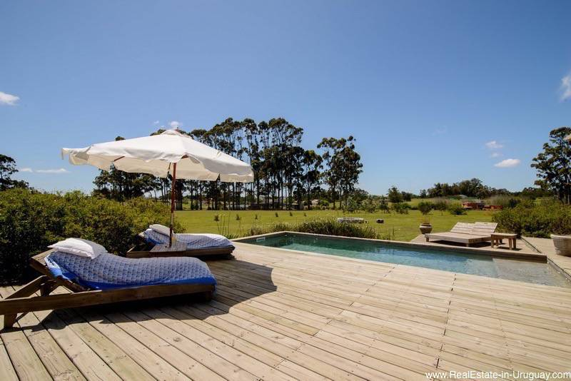 5261 Country Home near La Barra - Pool and Deck