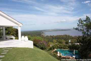 Home on the Hill at Las Cumbres with Sea and Laguna Views