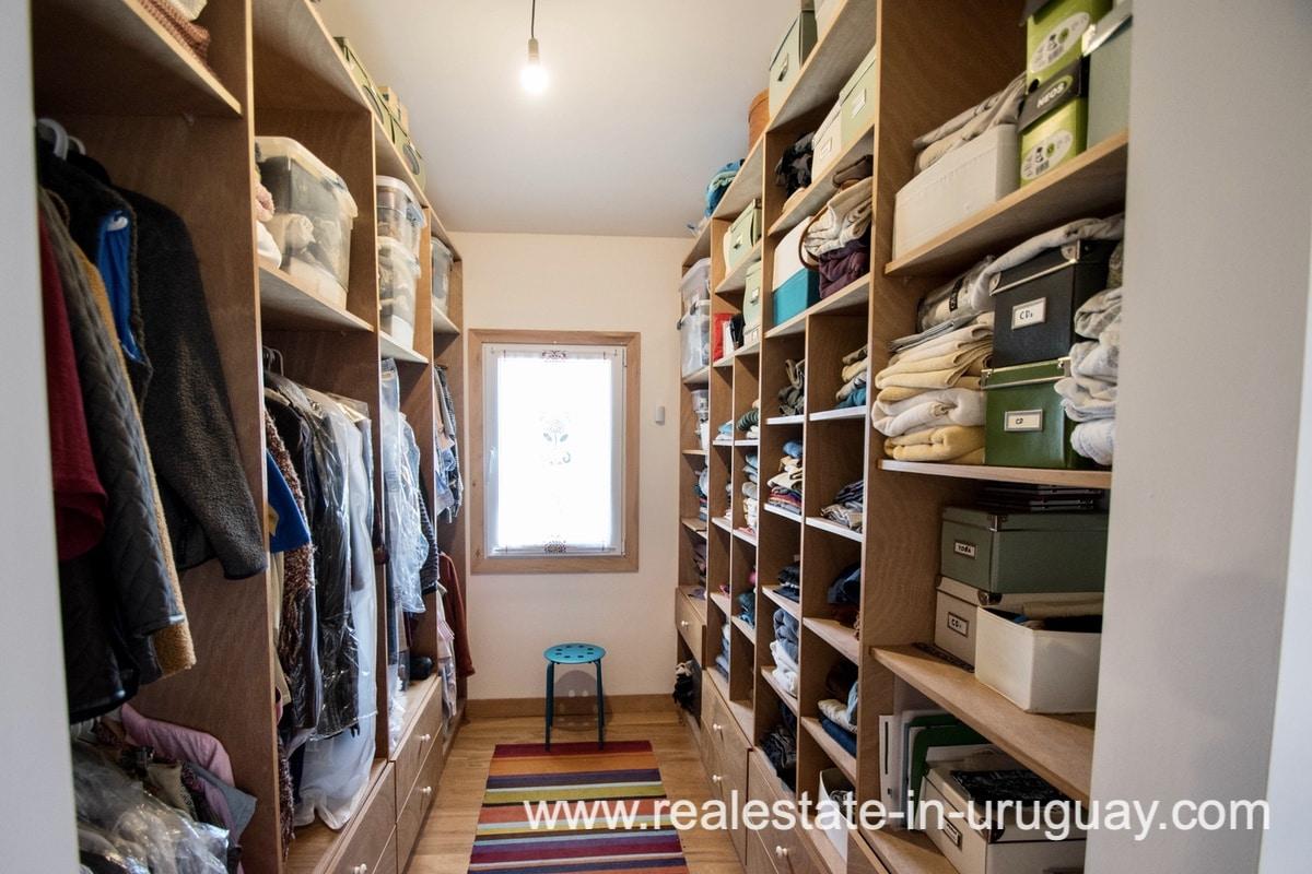 Closet of Modern Sustainable Bio Chacra in Pueblo Eden New Built