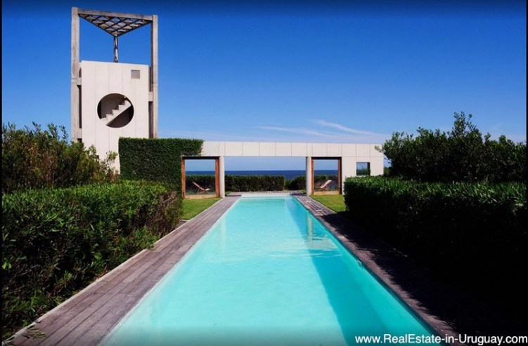 One of a Kind and Largest Beach Front Property in Punta del Este
