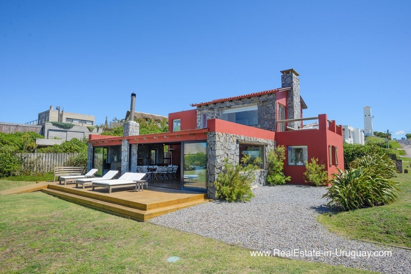Beachfront Home with Sunset Views in Jose Ignacio Town