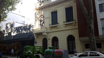 Historic Building in Old Town Montevideo