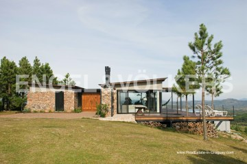 Modern House by Sierras de las Animas North of Piriapolis