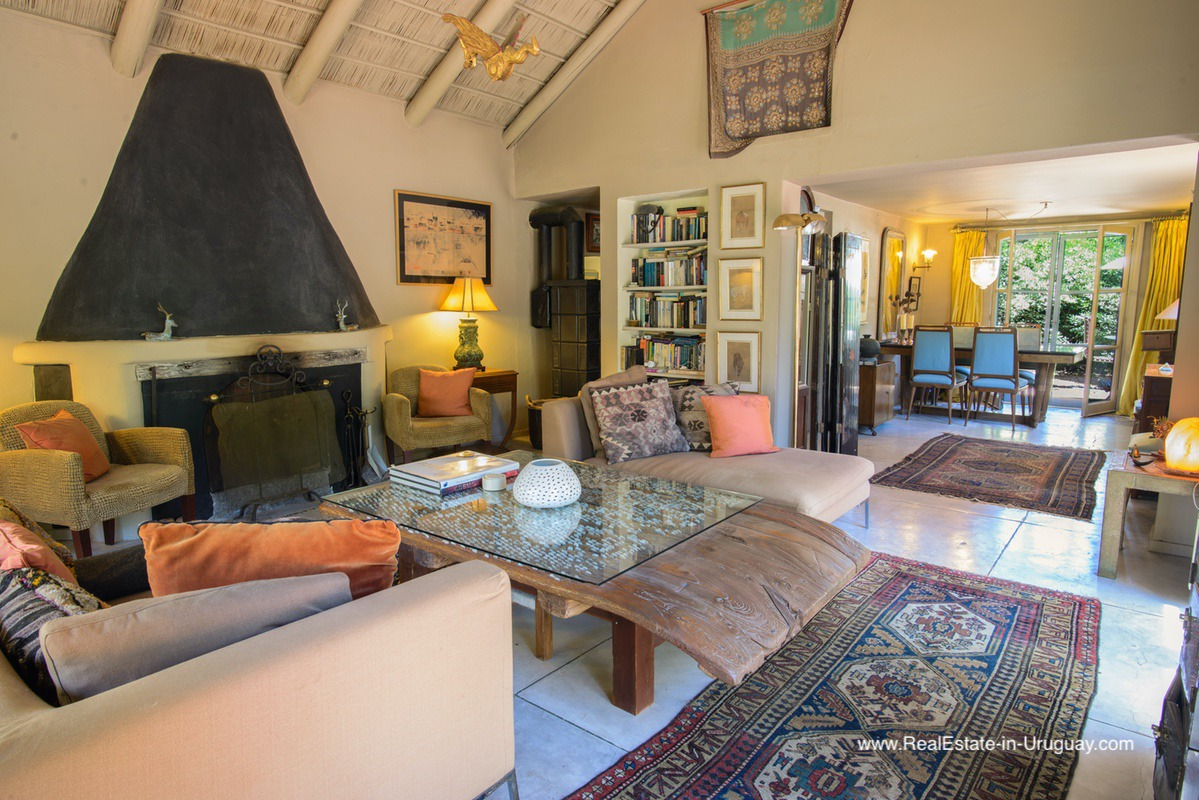 Historic Old Chapel Transformed into a Charming Home in La Barra