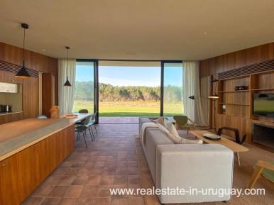 Living space of Las Carcavas