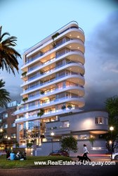 Front of New Apartments by the Golf Course in Punta Carretas in Montevideo