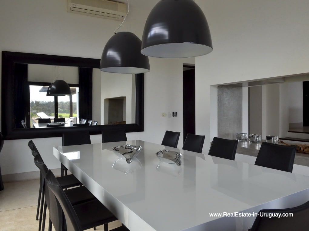 Dining room of Property in La Morada near the Beach Town Manantiales
