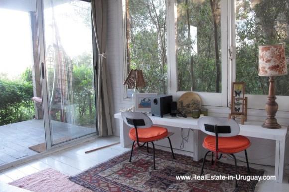 Modern Home with Lagoon Views in Santa Monica near Jose Ignacio