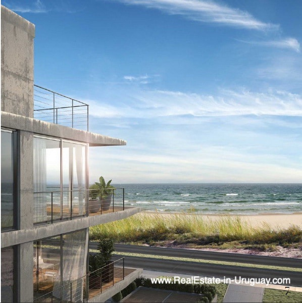 View of New Apartment Project Alma de Manantiales by Architect Martin Gomez in Manantiales