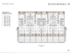 Plan 3 of New Apartment Project Alma de Manantiales by Architect Martin Gomez in Manantiales