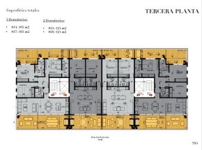 Plan 5 of New Apartment Project Alma de Manantiales by Architect Martin Gomez in Manantiales