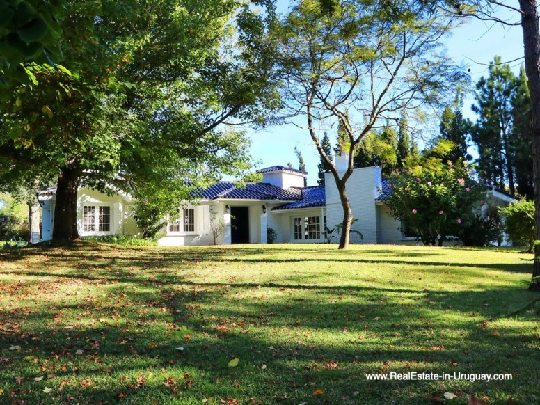 Traditional Solid Built Home in El Golf in Punta del Este