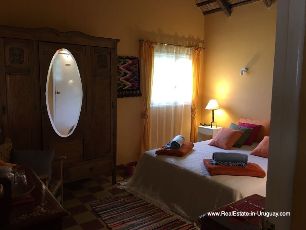 Guest Bedroom of One of the Best Spots on Laguna del Sauce by Punta Ballena