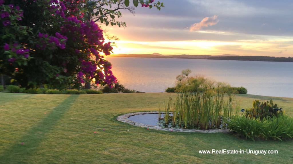 Sunset of One of the Best Spots on Laguna del Sauce by Punta Ballena