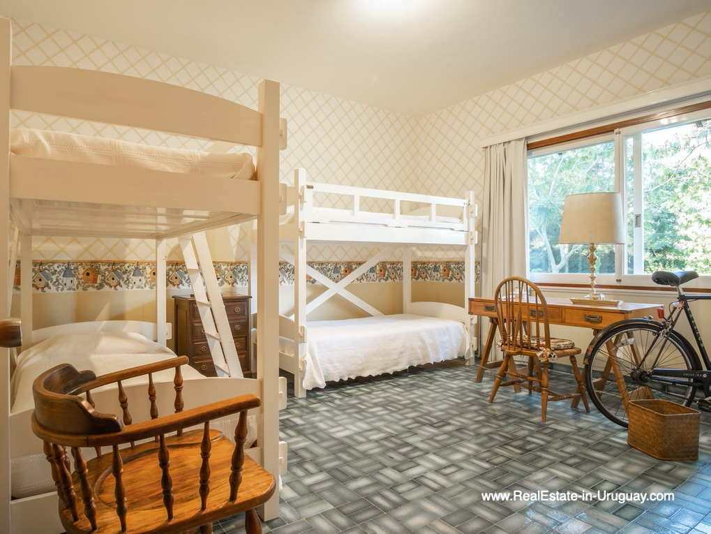 Bedroom of Large Property in the El Golf Area in Punta del Este