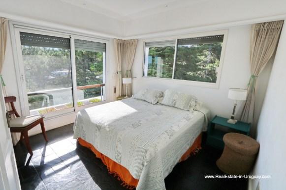 Bedroom of Penthouse with Ocean Views on Brava in Punta del Este