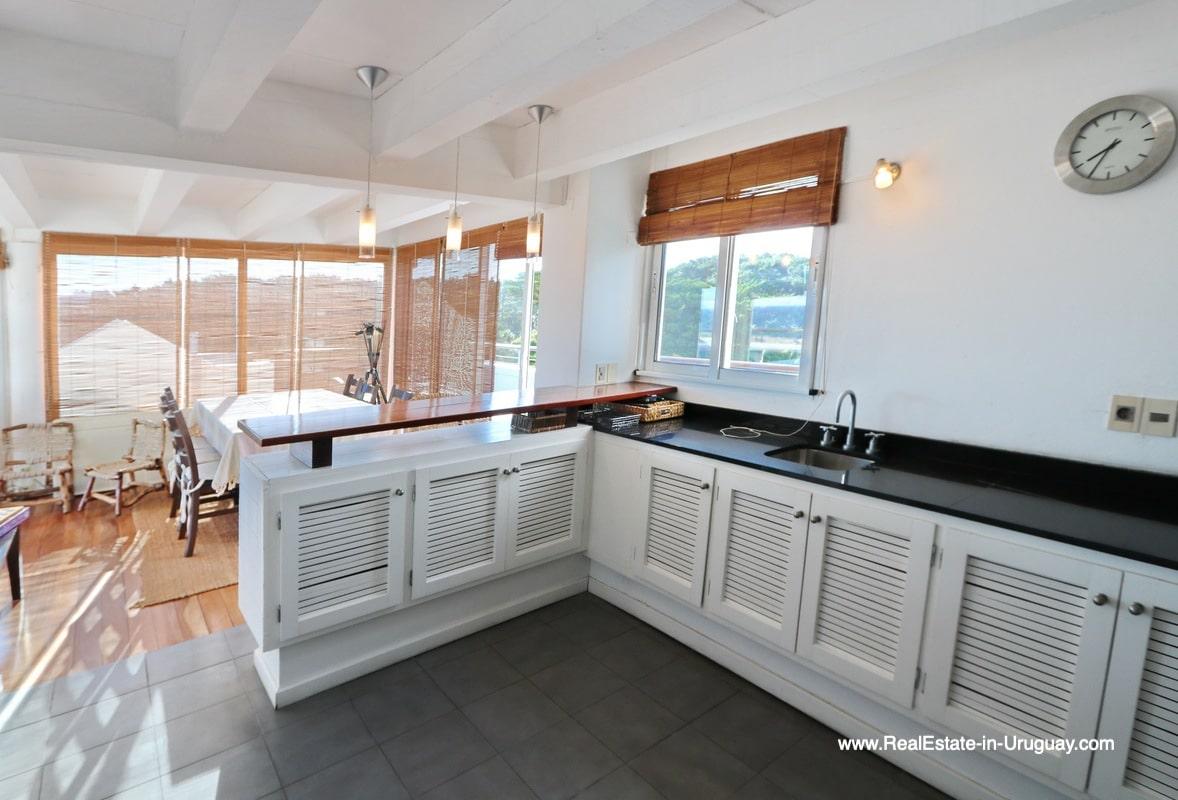 Kitchen of Penthouse with Ocean Views on Brava in Punta del Este