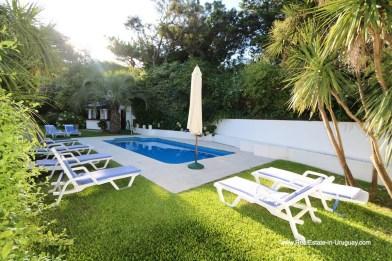 Pool area of Penthouse with Ocean Views on Brava in Punta del Este